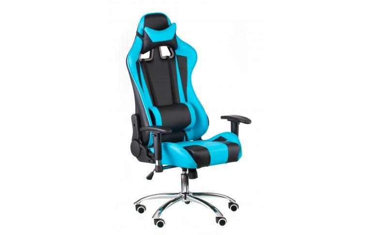 Геймерские кресла: купить Кресло ExtremeRace black/blue - 7