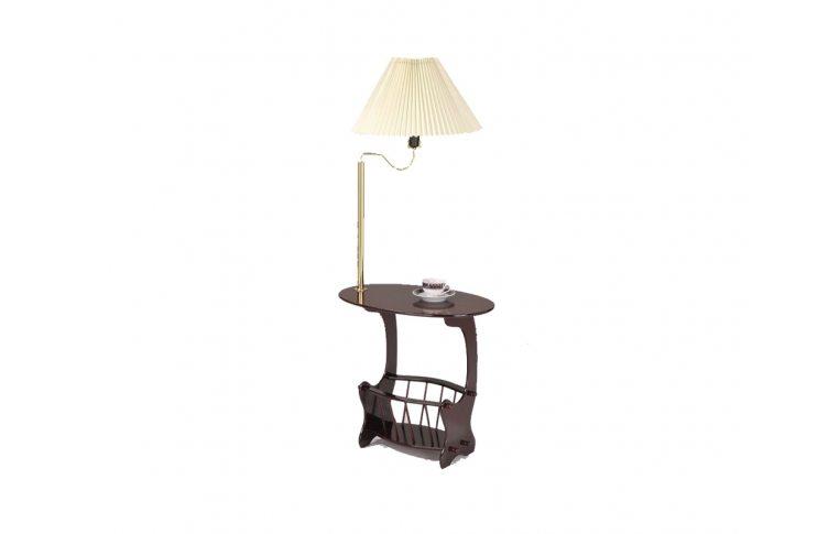 Журнальные столы: купить Стол кофейный SR-0752 с лампой - 1