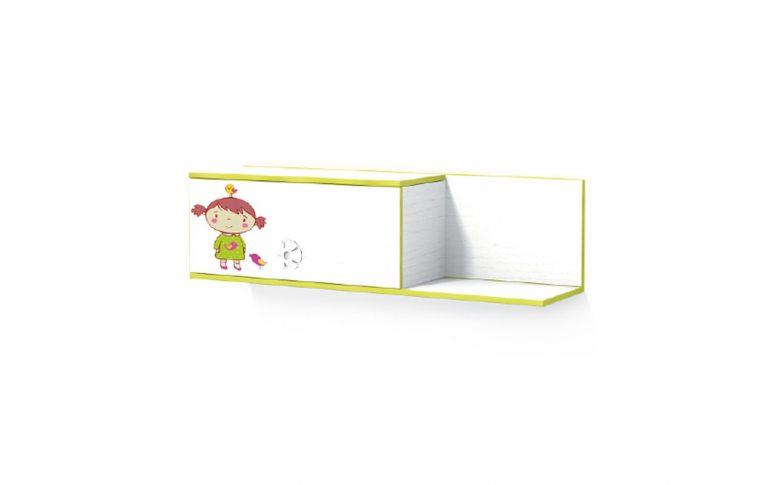 Детская мебель: купить Детская полка навесная Яблоко (Apple) LuxeStudio - 1