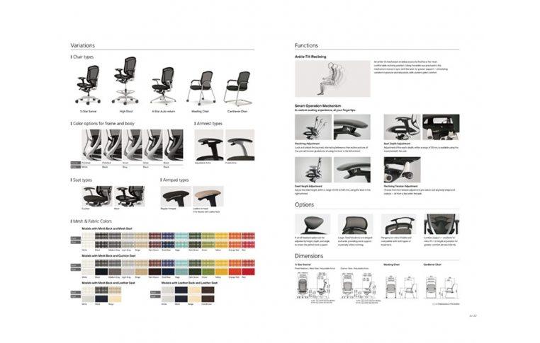 Эргономические кресла: купить Эргономичное кресло для компьютера Contessa Seconda Okamura - 6