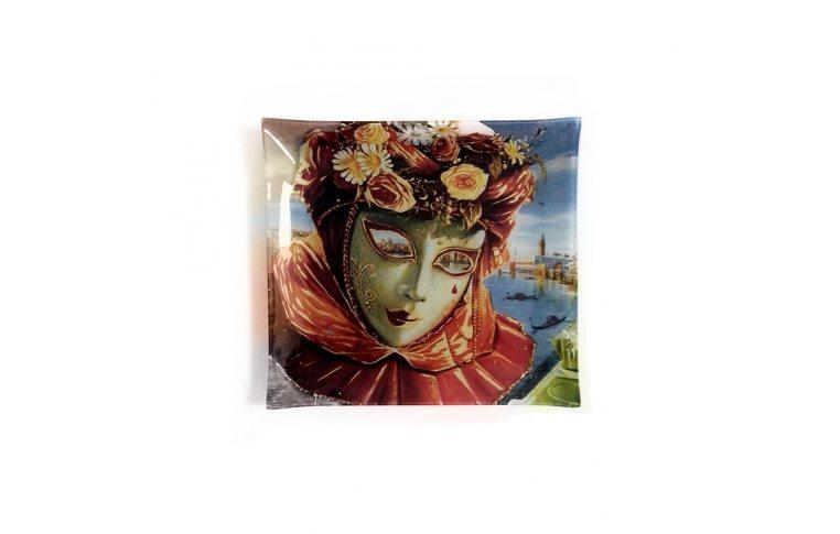 Декор для дома: купить Стеклянная тарелка Левин «Весна» - 1