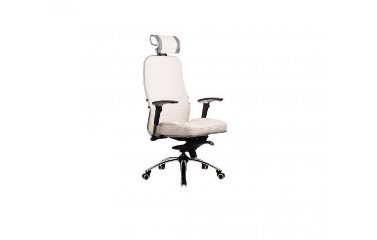 Кресла для руководителя: купить Кресло SAMURAI KL3 WHITE - 1