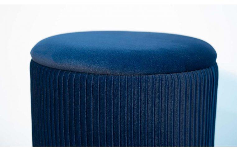Пуфы: купить Пуф Томас мягкий синий - 3