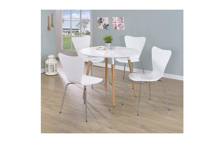 Кухонные стулья: купить Стул Ант, гнутая фанера, белый - 2