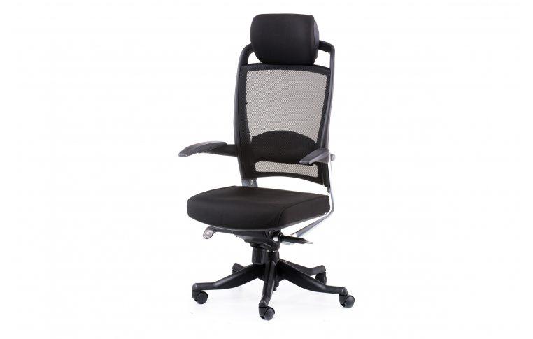 Офисные кресла: купить Кресло FULKRUM BLACK FABRIC, BLACK MESH - 1