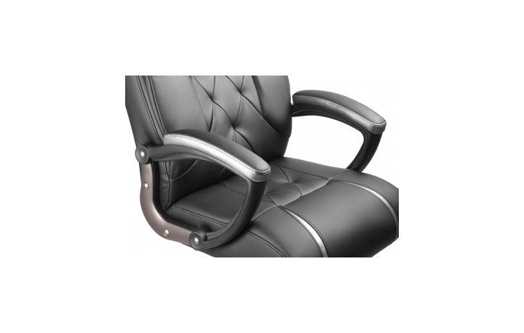 Кресла для руководителя: купить Кресло Barsky Design PU black BD-01 - 2