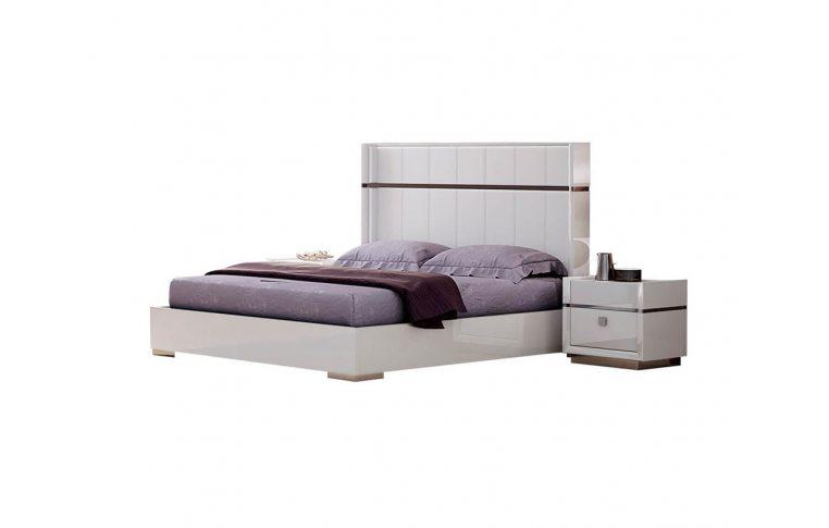 Кровати: купить Кровать Лондон белый Frisco - 1