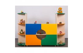 """Мебель для детского сада: купить Стенка """"Времена года"""" -"""