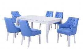 Кухонные столы: купить Стол Тиффани белый Domini