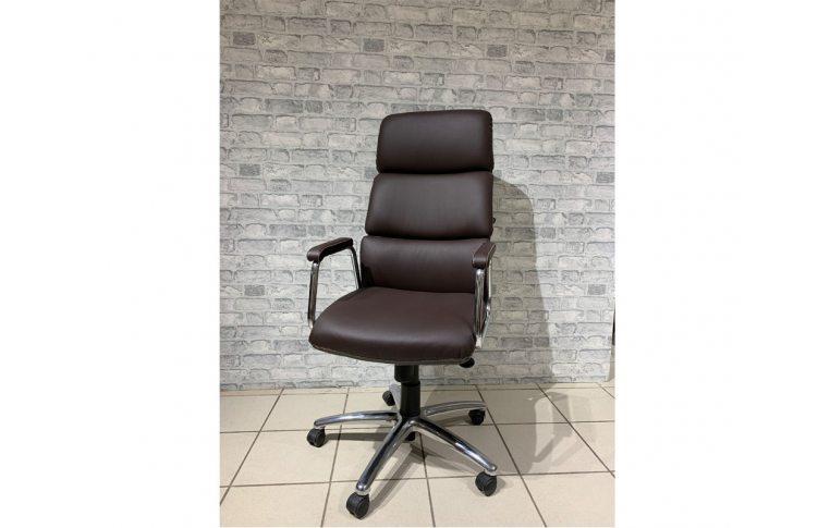 Кресла для руководителя: купить Кресло California steel chrome ECO-31 Новый стиль - 1