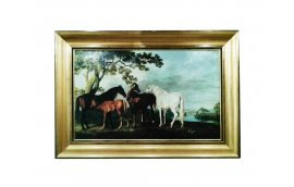 Декор для дома: купить Картина лошади