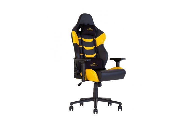 Игровые кресла: купить Кресло для геймеров Hexter rc r4d Tilt mb70 Eco/02 Black/Yellow - 5