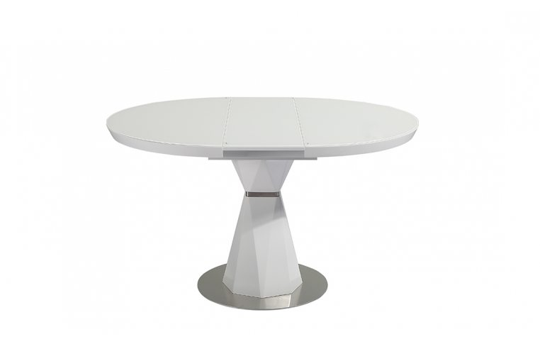 Кухонные столы: купить Стол Раунд белый - 2