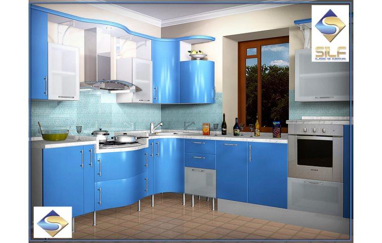 Кухни на заказ: купить Кухня под заказ Розалина Сильф - 1