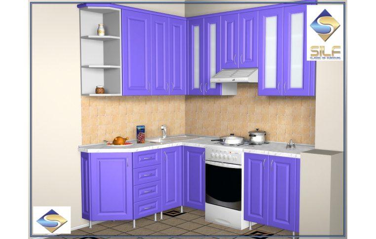 Кухни на заказ: купить Кухня под заказ Эйми Сильф - 1