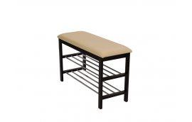 Мягкая мебель: купить Скамейка с подставкой для обуви цв. Орех SR-0628