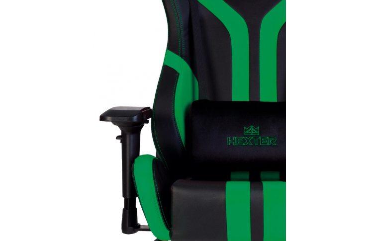Игровые кресла: купить Кресло для геймеров Hexter Pro r4d Tilt mb70 Eco/03 Black/Green - 5