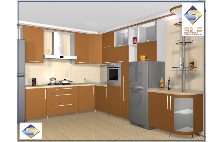 Кухни на заказ: купить Кухня под заказ Аланна Сильф - 1