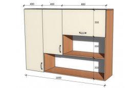 Школьные шкафы: купить Модуль стенка школьная НШ-В-1 л/п -
