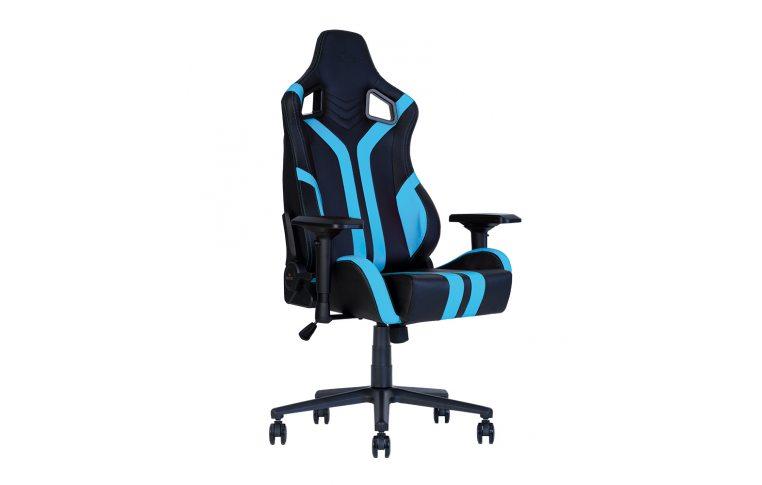 Игровые кресла: купить Кресло для геймеров Hexter Pro r4d Tilt mb70 Eco/03 Black/Blue - 1