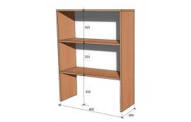 Школьные шкафы: купить Модуль стенка школьная НШ-В-4 -