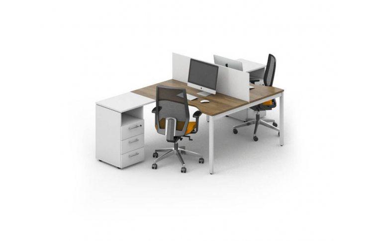 Офисные столы: купить Рабочее место персонала Джет композиция 5 M-Concept - 1