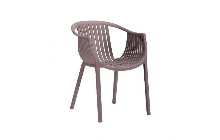 Пластиковые стулья: купить Кресло Crocus PL Какао - 1