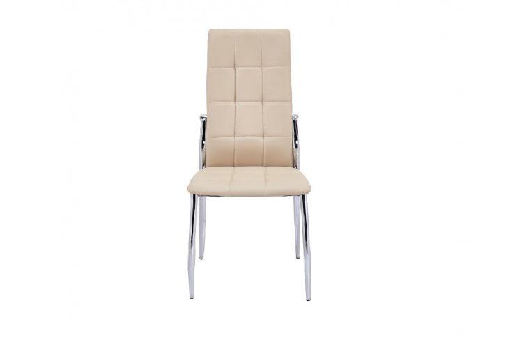 Кухонные стулья: купить Стул Дорис хром, бежевый - 1