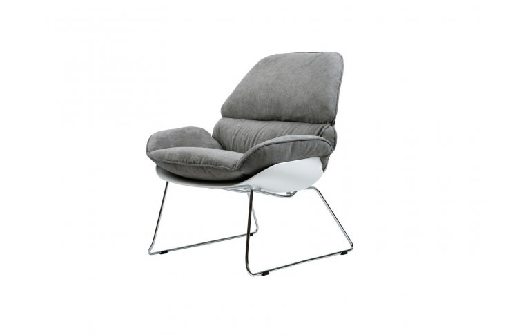 Кресла: купить Кресло лаунж Serenity серое - 1