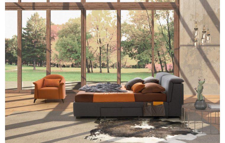 Итальянская мебель для спальни: купить Кровать Apollo Lecomfort - 4