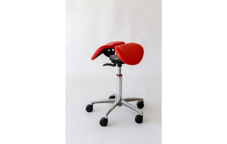 Эргономичные стулья: купить Стул-седло Salli Chin красный - 2