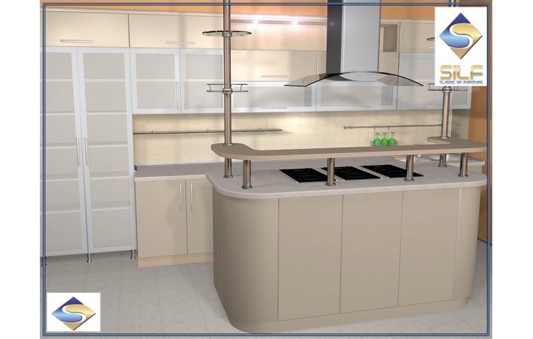 Кухни на заказ: купить Кухня под заказ Алиса Сильф - 1