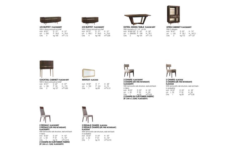 Итальянская мебель: купить Столовая в современном стиле Accademia - 2