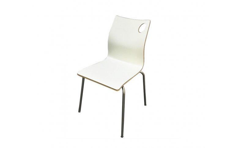 Кухонные стулья: купить Стул Хорека-W, гнутая фанера, белый - 1
