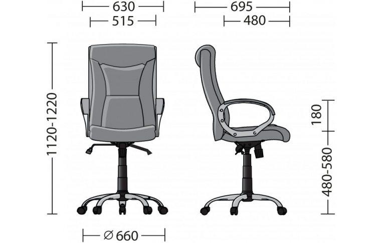 Кресла для руководителя: купить Кресло Elly Soro-23 - 4