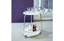Журнальные столы: купить Стол сервировочный V-323 белый