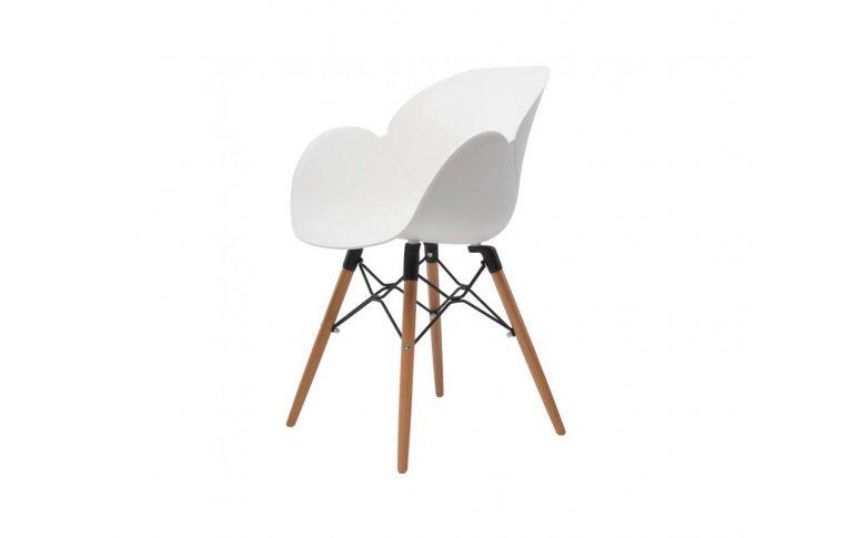 Пластиковые стулья: купить Кресло Friend белое - 1