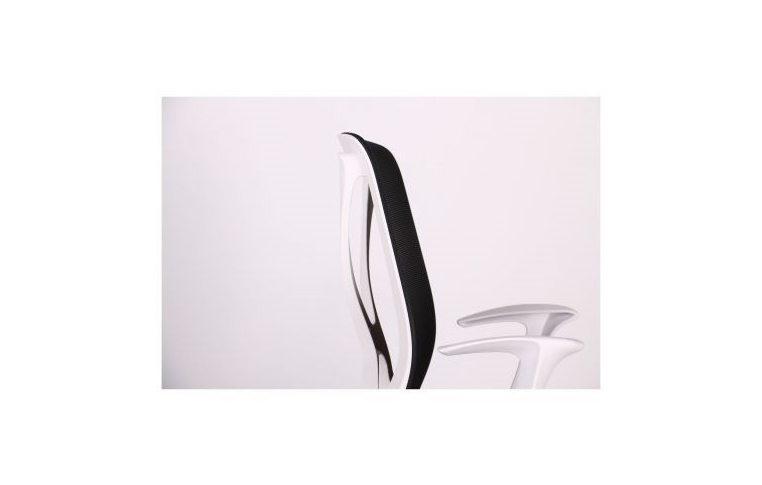 Кресла для руководителя: купить Кресло Nickel White сиденье Сидней 07 спинка Сетка SL-00 черная - 5