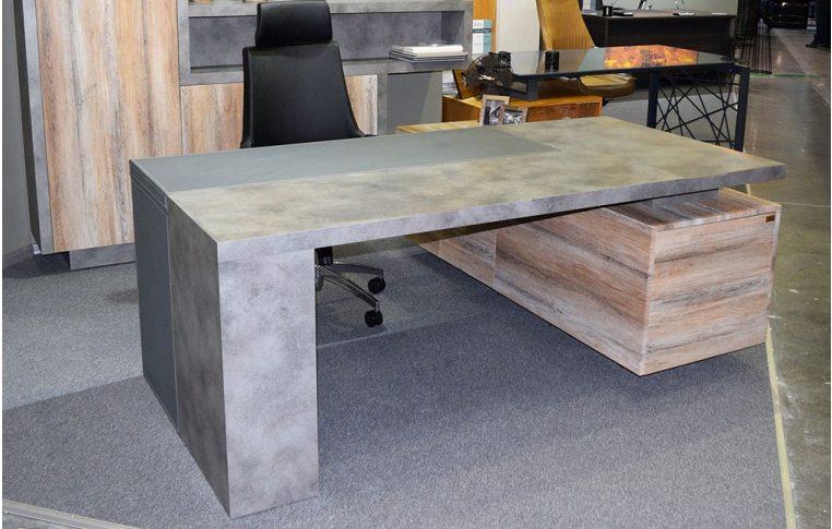 Офисная мебель: купить Стол руководителя Урбан - 1