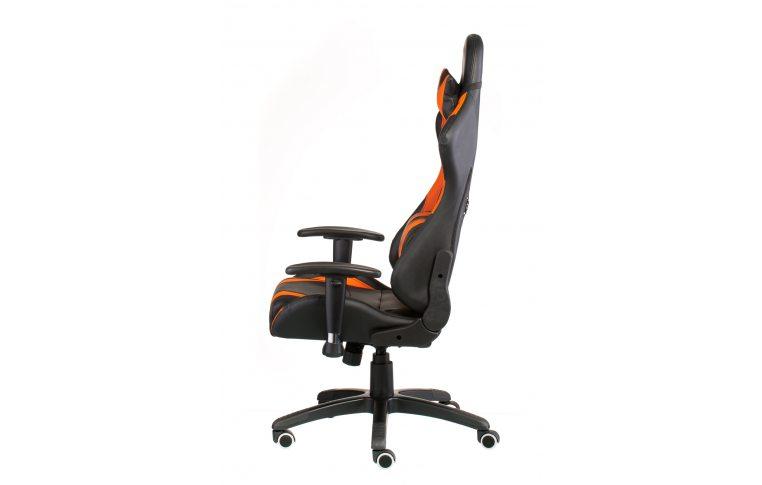 Геймерские кресла: купить Кресло ExtremeRace black/orange - 4