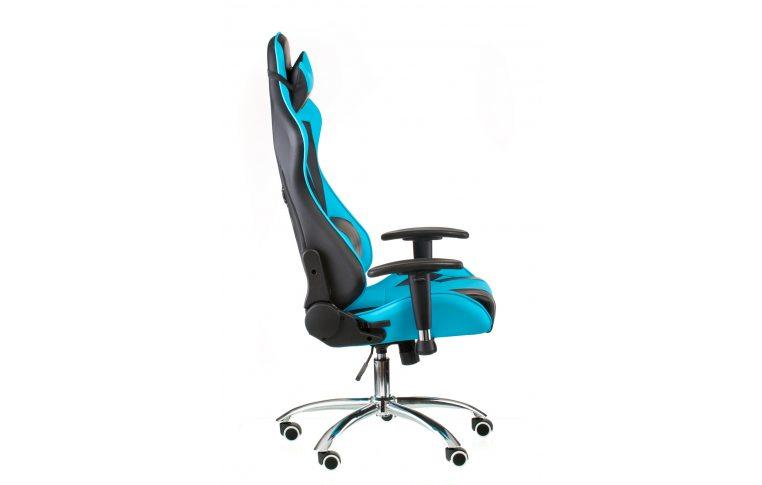 Геймерские кресла: купить Кресло ExtremeRace black/blue - 4