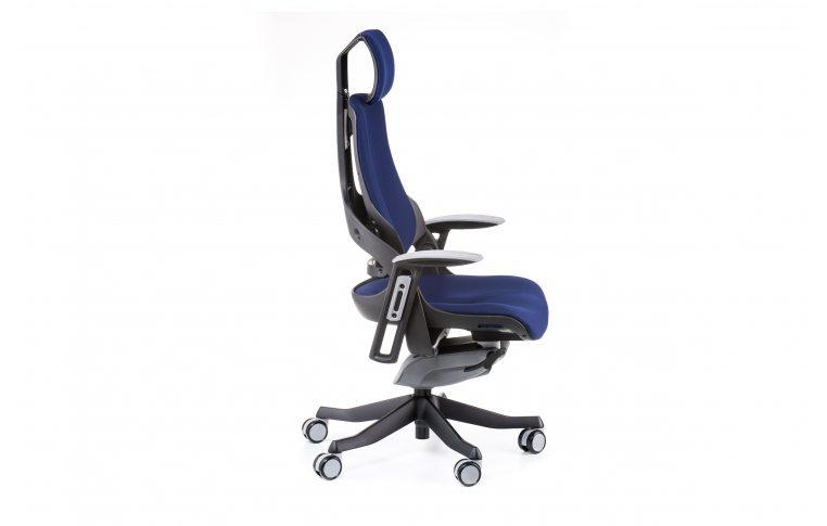 Офисные кресла: купить Кресло WAU NAVYBLUE FABRIC - 5