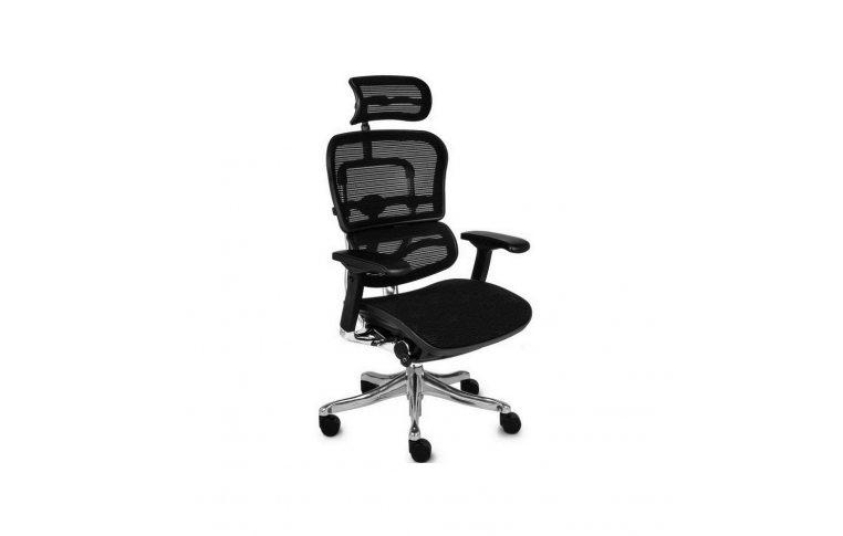 Эргономические кресла: купить Кресло Ergohuman Plus Black - 1