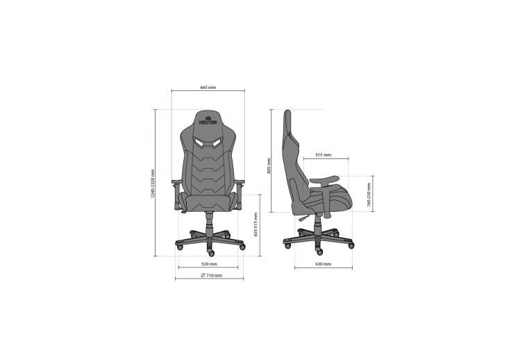 Геймерские кресла: купить Кресло для геймеров Hexter mx r1d Tilt pl70 Eco/01 Black/Red - 15