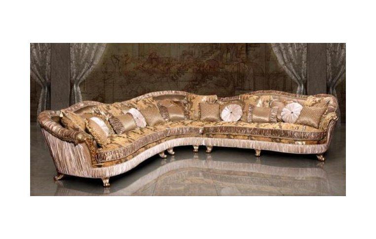 Мягкая мебель: купить Диван Лувр угловой - 1